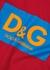 Red logo cotton T-shirt - Dolce & Gabbana