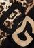 Panelled leopard-print cotton sweatshirt - Dolce & Gabbana