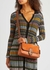 Soft Tabby rust leather and suede shoulder bag - Coach