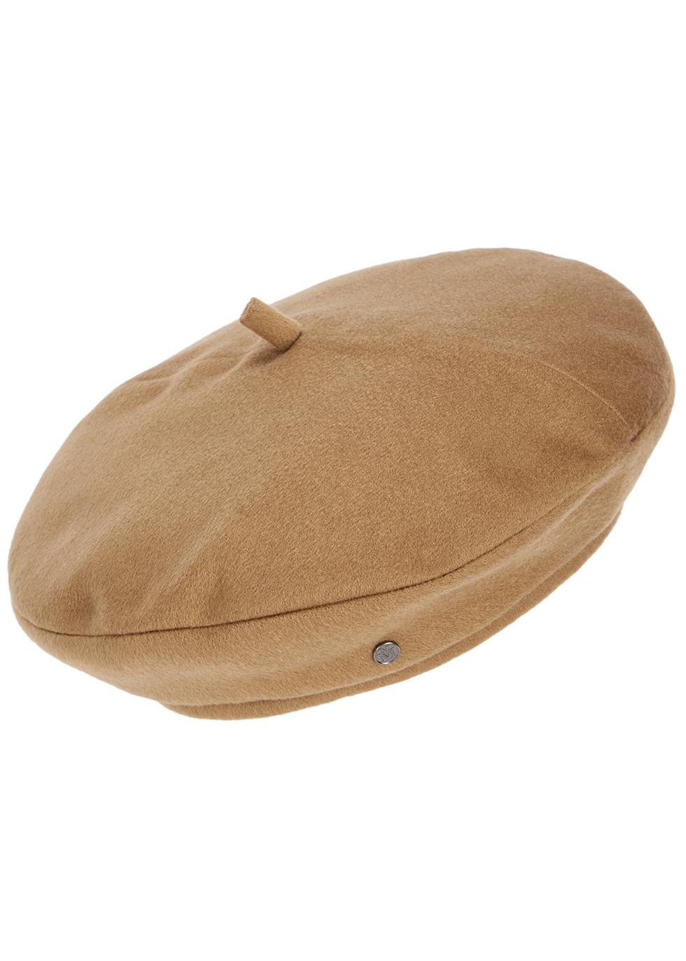 New Billy camel cashmere beret
