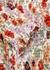 Kali floral-print smocked chiffon top - Veronica Beard