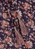 Vani floral-print midi dress - Veronica Beard