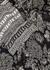 Itha black printed silk-chiffon blouse - Veronica Beard