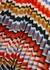 Striped pleated fine-knit midi skirt - Victoria, Victoria Beckham