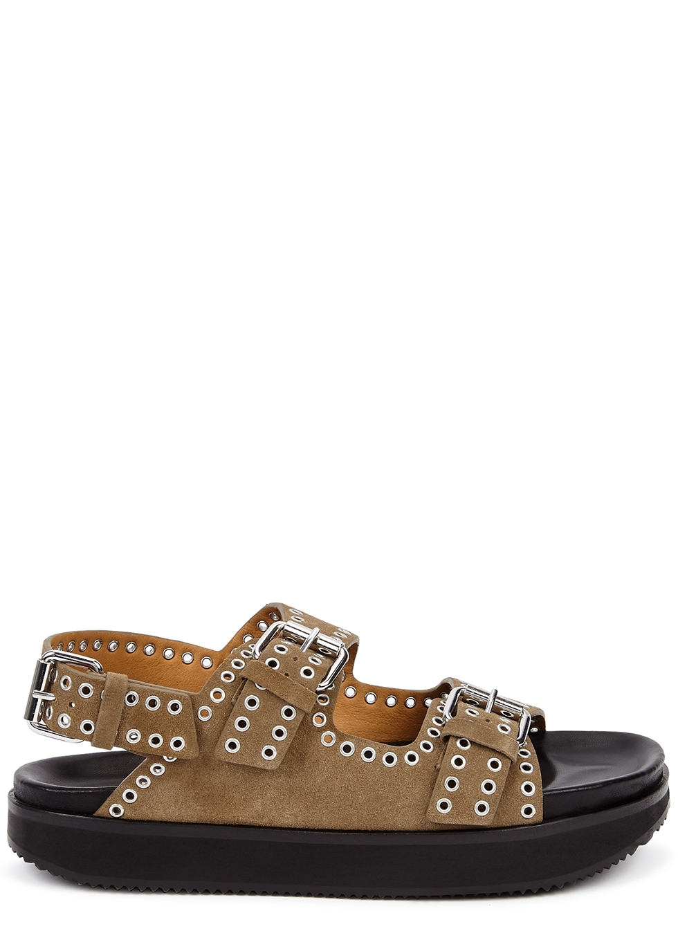 Ophie studded suede sandals
