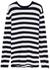 N°136 Hein striped cashmere-blend jumper - extreme cashmere