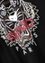 Black tiger-print cotton T-shirt - Kenzo