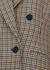 Meya houndstooth wool blazer - Stella McCartney