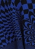 Blue and black intarsia wool-blend jumper - Stella McCartney
