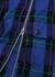 Nella blue tartan wool-blend trousers - Stella McCartney