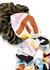 Printed silk scrunchies - set of two - Fendi