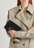 Baguette black leather cross-body bag - Fendi