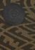 Brown FF logo-jacquard pouch - Fendi