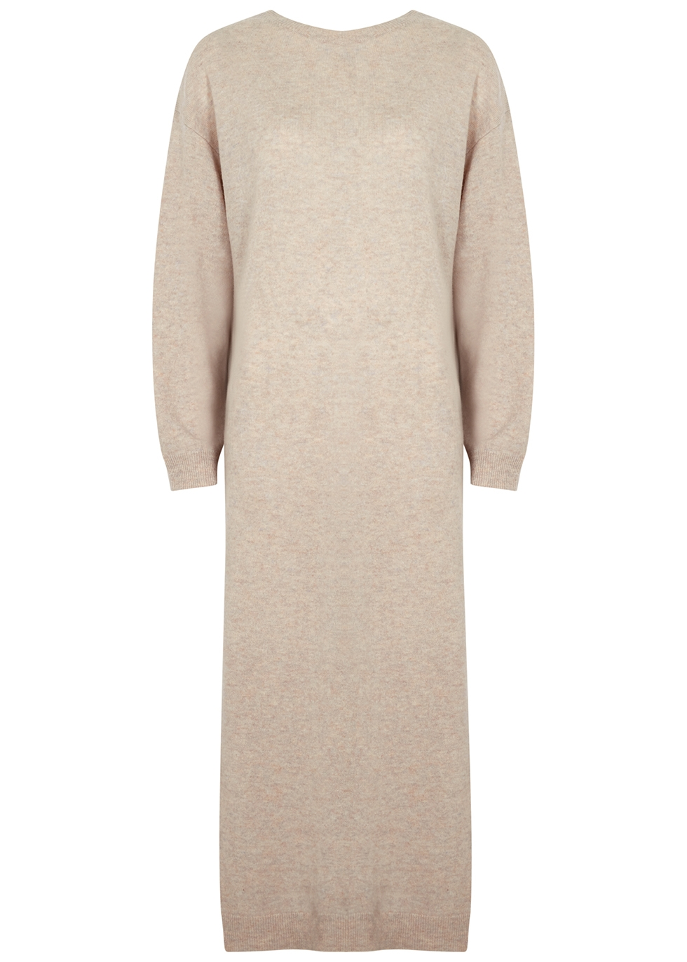 Valcyrie stone wool jumper dress
