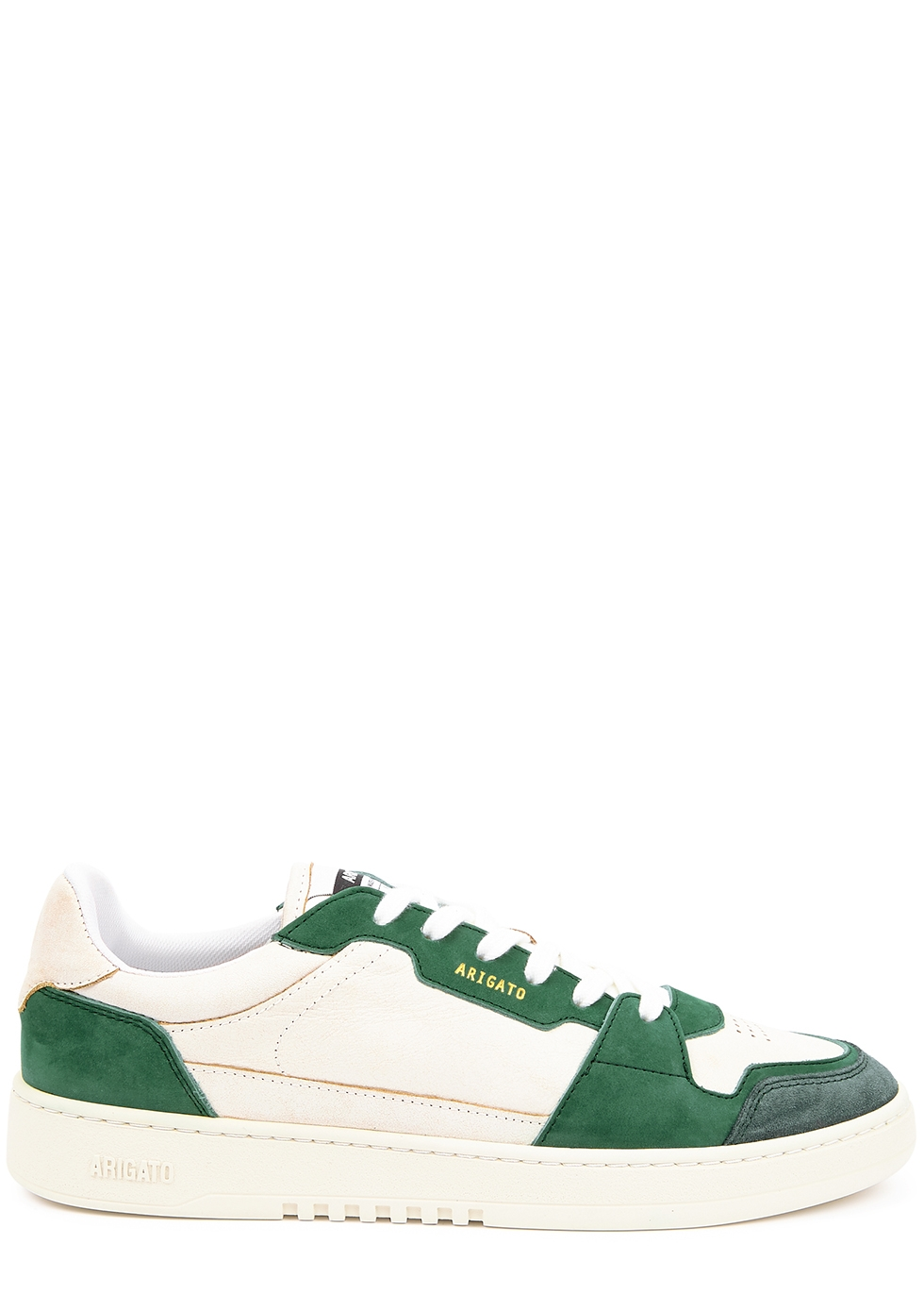 Ace off-white panelled sneakers