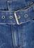 Rosemary blue denim shorts - Alice + Olivia