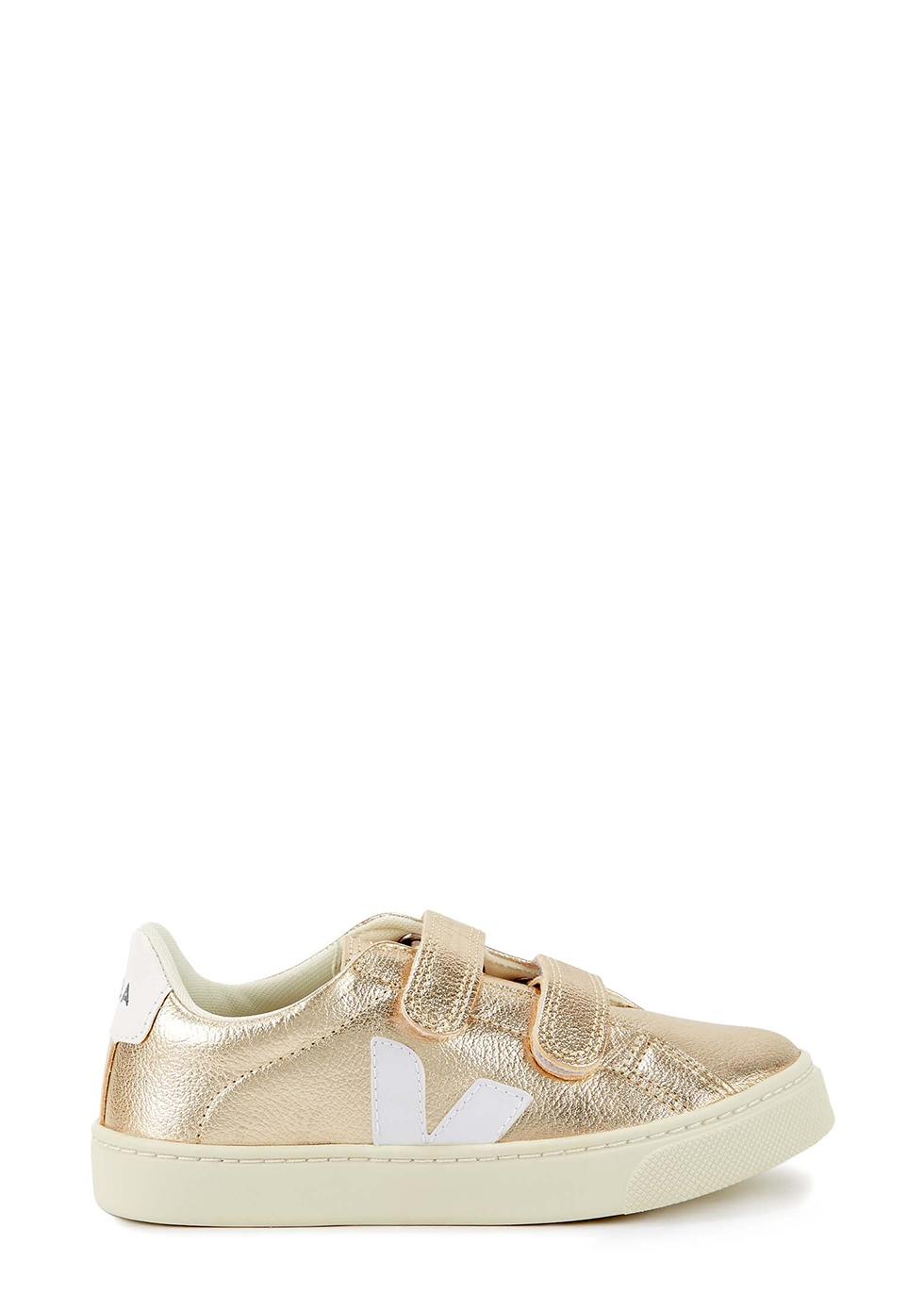 Esplar gold leather sneakers (IT29-IT35)