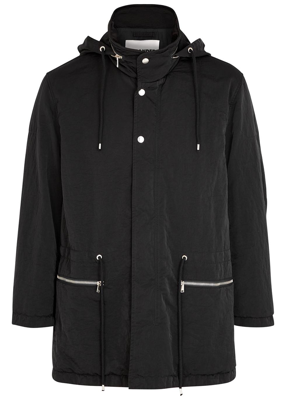 Caban black padded shell jacket