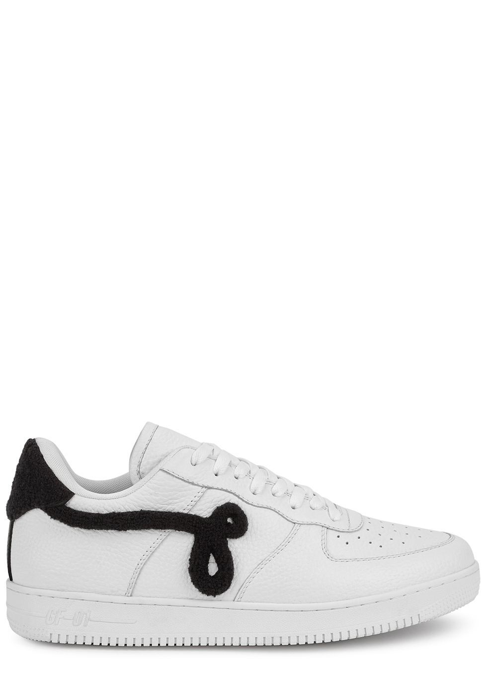 GF-01 white leather sneakers