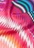 Zigzag-print silk scarf - MISSONI