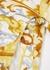 Logo-print stretch-cotton babygrow - Versace