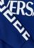 Blue logo-print cotton sweatshirt (4-6 years) - Versace