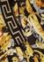 Baroque-print pleated satin skirt (4 years-6 years) - Versace