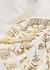 White Medusa-print stretch-cotton babygrow - Versace