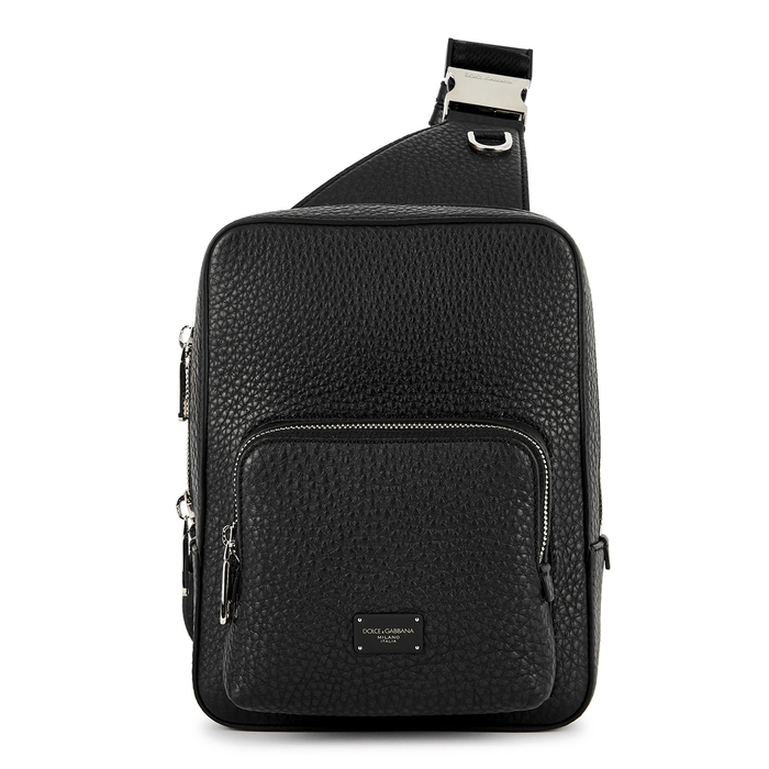 Dolce & Gabbana Black Leather Cross-body Bag