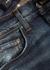 Stack blue skinny jeans - Amiri