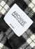 Archive monochrome checked wool jacket - Palm Angels