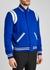 Blue wool-blend bomber jacket - Saint Laurent