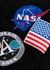 X NASA badge-appliquéd cotton T-shirt - Balenciaga