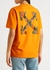 Chine Arrows printed cotton T-shirt - Off-White
