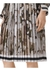 Camouflage print silk-lined pleated skirt - Burberry