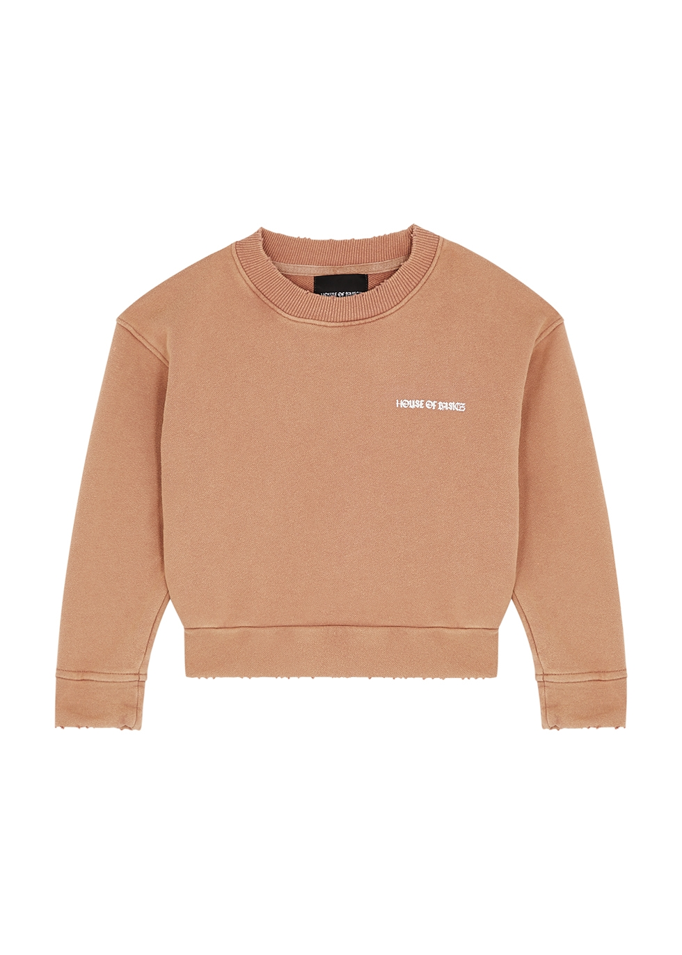 Dusky rose cotton sweatshirt (1-5 years)