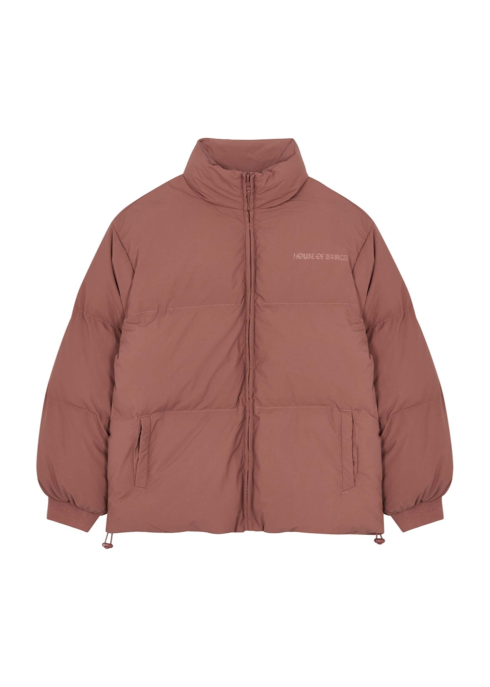 Dusky pink quilted shell jacket (1-5 years)