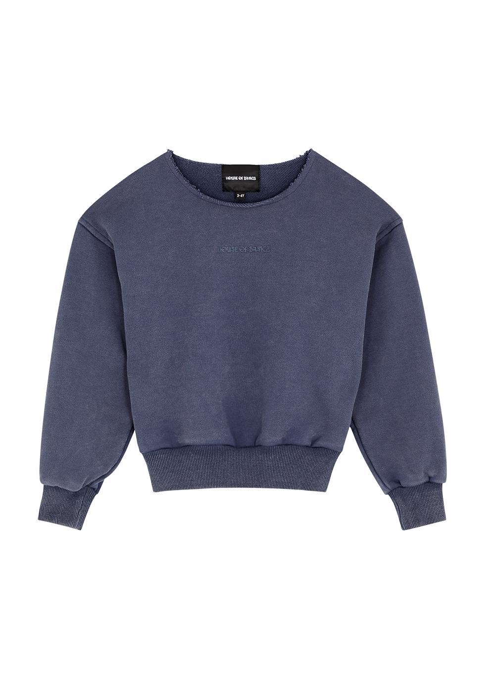 Navy cotton sweatshirt (1-5 years)