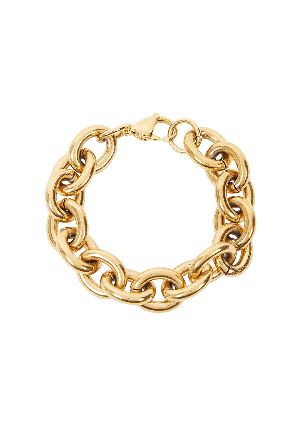 Alexandria Rolo gold-plated chain bracelet