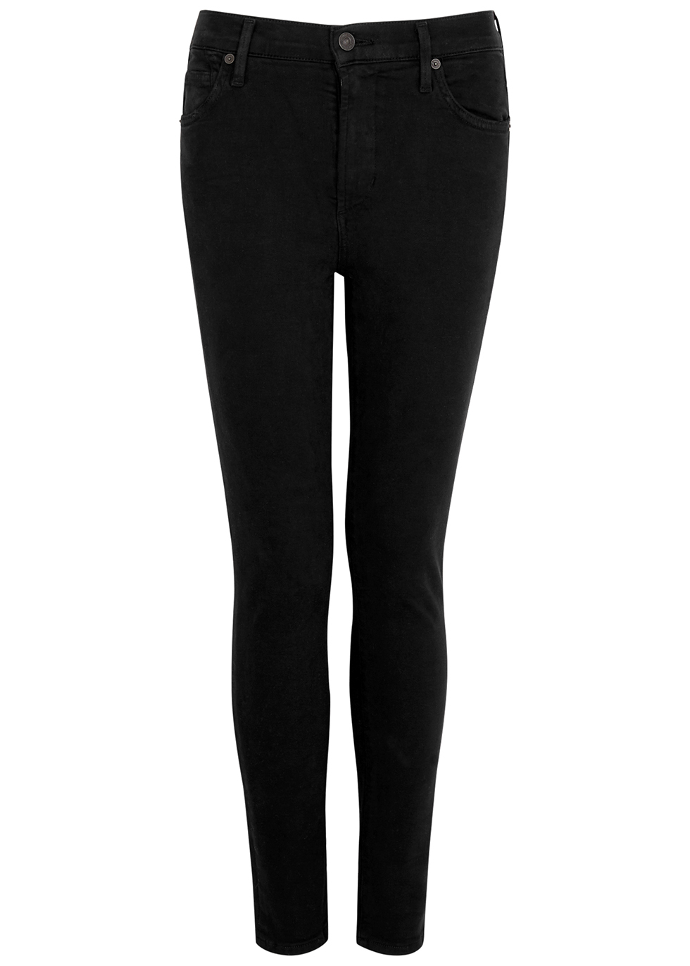 Rocket Ankle black skinny jeans