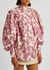 Isla printed linen blouse - ALEMAIS