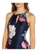 Printed mikado high low dress - Adrianna Papell