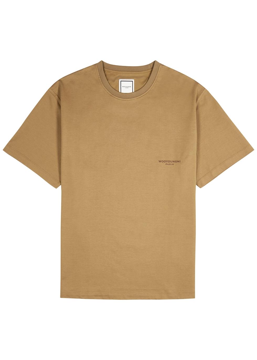 Camel logo cotton T-shirt