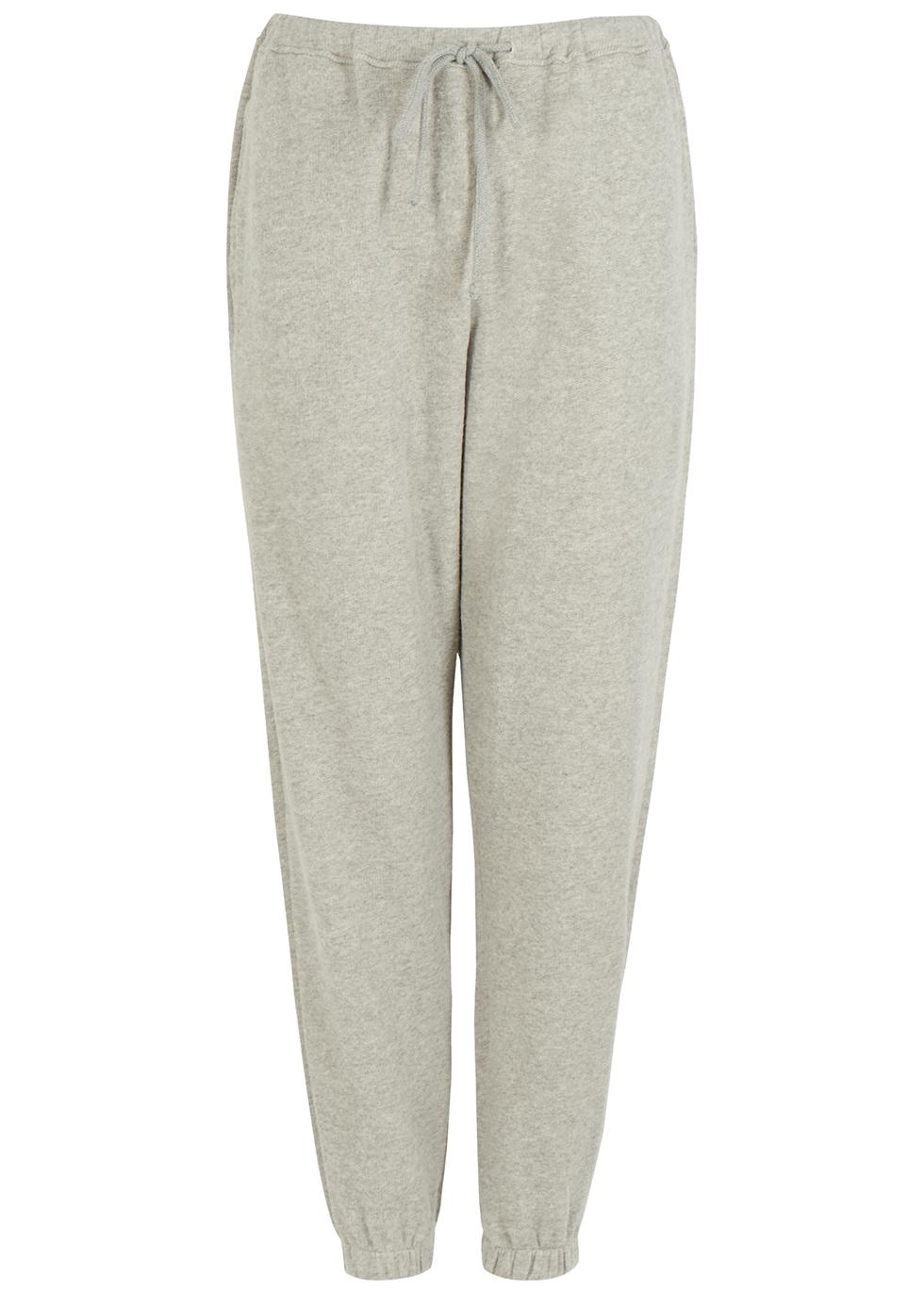 Neaford grey stretch-jersey sweatpants