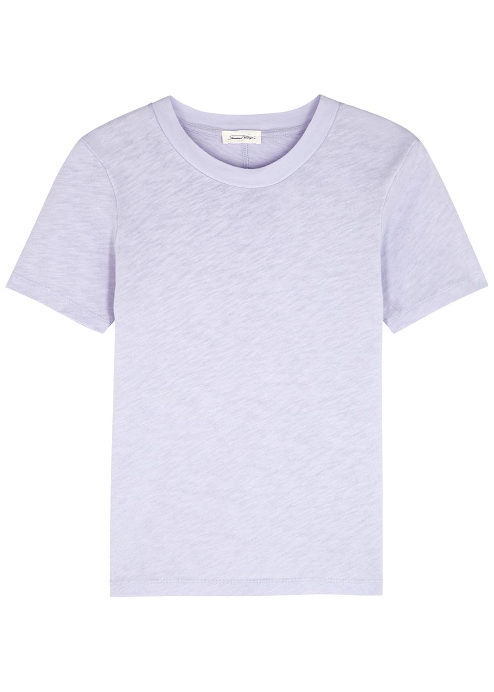 Sonoma lilac slubbed cotton T-shirt
