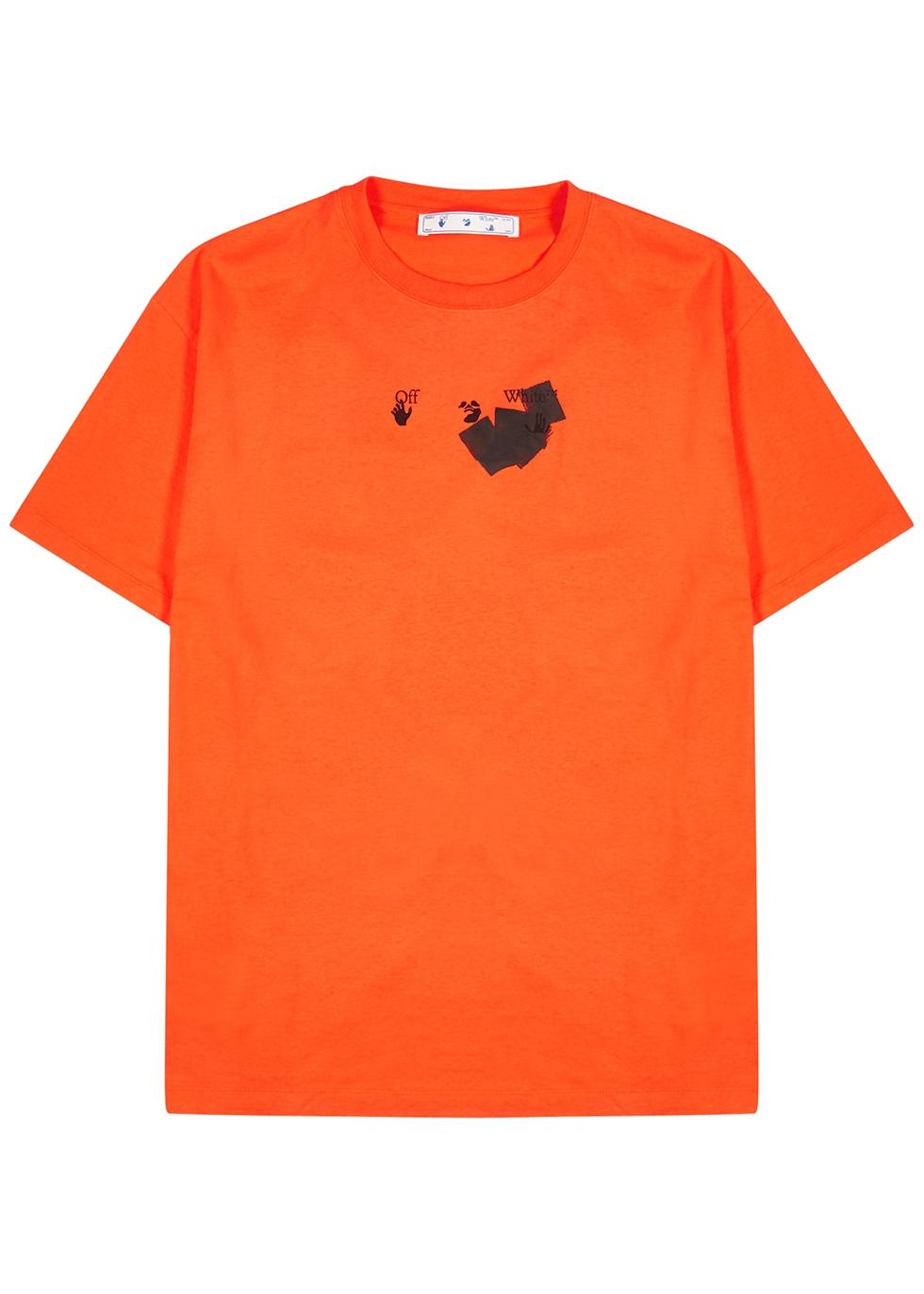 Jumbo Marker printed cotton T-shirt