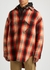 Red checked wool overshirt - Lanvin