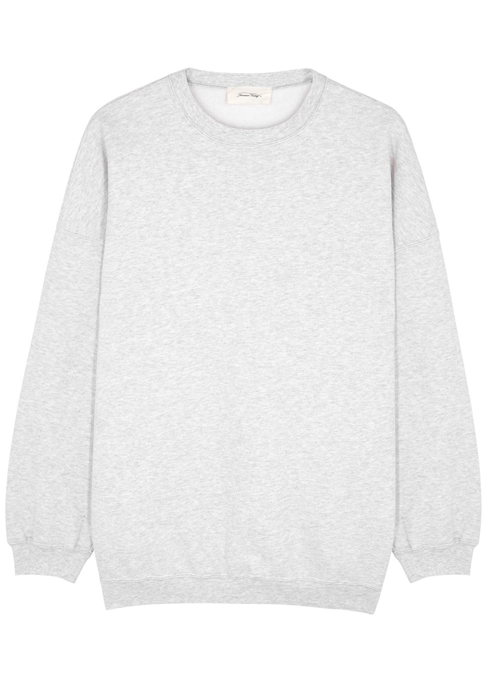 Baetown grey mélange jersey sweatshirt