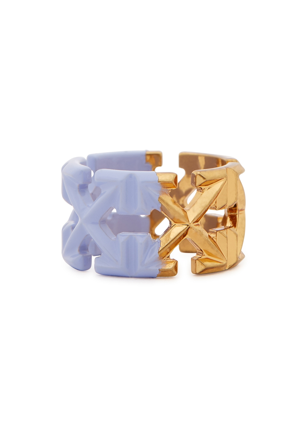 Arrows two-tone ring