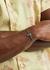 Mini Bas Relief gunmetal orb bracelet - Vivienne Westwood